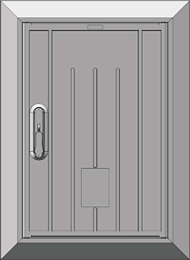 Inspection door (DRT)