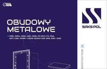 Obudowy metalowe SAKS-POL - Katalog 2018