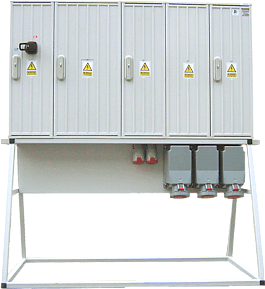 Construction switchgears RBT in polyester enclosures