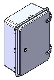 Obudowa poliestrowa szczelna IP65 wersja z drzwiami