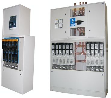 Metal enclosures for indoor station switchgears