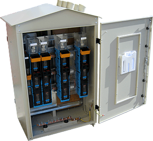 RSW pole transformer station switchgear - with the main system
