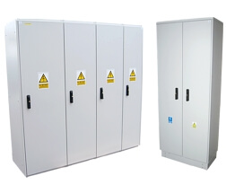 Industrial metal enclosures